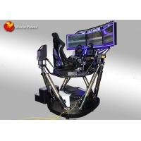 Buy cheap Motion 6 Dof 9D Simulator Coin And Wechat Operated / Arcade Car Racing Games from wholesalers