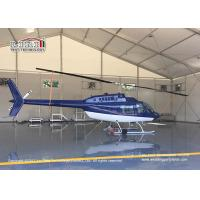 Quality Waterproof And Flame Retardant Cover Aircraft Hangar Tent With Auto Roll Up Door for sale
