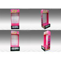 China Rectangle Sidekick Display Stand , Wall-mounted corrugated pop displays wholesale