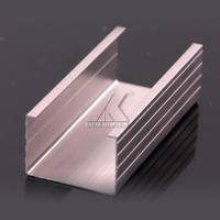 China Aluminum Railing Alloy Extrusion Profiles Easy Construction For Decoration Frame wholesale