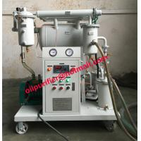 Buy cheap Hot product Single Stage Vacuum Transformer Oil Purifier with Mobile wheel,oil purification plant, filter factory sale from wholesalers
