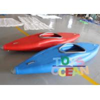 China Single Seat Inflatable Fishing Kayak Canoe Boat 0.9mm PVC For One Person wholesale
