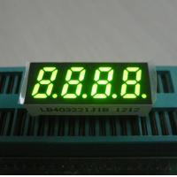 China 0.32 Inch Green 7 Segment Led Display Temperature Humidity Indicator Four Digit wholesale