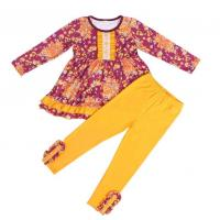 China Customized Color Kids Garments Summer Baby Girl Clothes With Matching wholesale