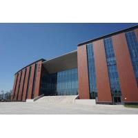 China Architectural Exterior Wall Cladding Facade Systems , Rainscreen Cladding Systems wholesale