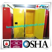 Quality Fireproof Industrial Safety Cabinets , Chemical Storage Cupboards For Flammables for sale