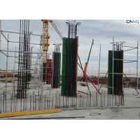China Easy Connection Column Formwork Systems Steel Frame / ABS Coating Plywood Material wholesale