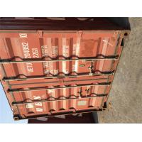 China 20GP Used Metal Storage Containers / 2nd Hand Shipping Containers wholesale