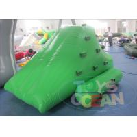 China Mini Inflatable Water Game  / Iceberg Floating Climbing Wall For Kids wholesale