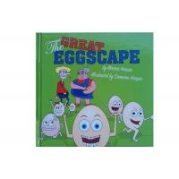 China Coated Matt Art Paper Kids Book Printing , Picture Book Printing For The Great Eggscape wholesale
