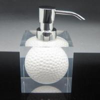 Quality Acrylic Resin Golf Lotion Dispenser for Bathroom, OEM and ODM Orders are Welcome for sale