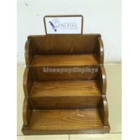 China Wood Cosmetic Display Stand for E - Liquid Juice Bottles / Essential Oil wholesale