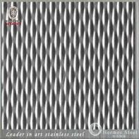 Foshan Manufacturer Embossed Stainless Steel Sheet For Building, Hotel, Supermarket Decoration
