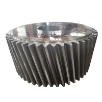 China Machine Spare Part Spur ZG35CrMo AISI 4140 Steel Spur Helical Gear on sale