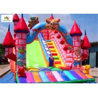 China 5m Cartoon Inflatable Bouncy Castle With Silk Printing Fire - Retardant on sale