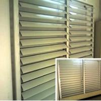 China Blind / Shutter Industrial Aluminum Profile , Louver / Jalousie Extrusion Profiles wholesale