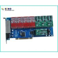 China PCI to Isa Card Sinov-TDM1600P 16 Port FXO / FXS PCI Card VoIP WCDMA Gateway Witn Imsi Catcher wholesale