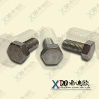 China Super duplex S32760 stainless steel hardware  hex bolt wholesale