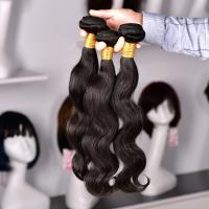 China Human Virgin Hair Brazilian Body Wave Human Hair Bundles Peruvian Hair Extension on sale