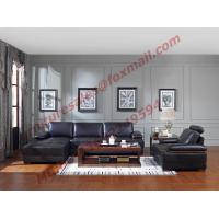 China Italy Leather Sofa with L-Shape in Wooden Sofa Set wholesale