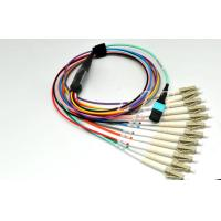 China Rohs MPO To LC Fiber Optic MTP Patch Cord 24-Core With Small Volume wholesale