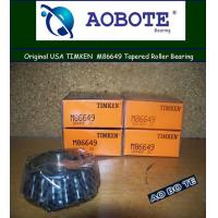 China Timken M86649 Tapered Roller Bearing M86610 with Inner Circle and Cone Outer wholesale