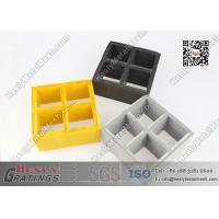 China 38mm depth Fire Retardent Fiberglass Reinforced Plastic Molded Grating 38x38mm square hole wholesale