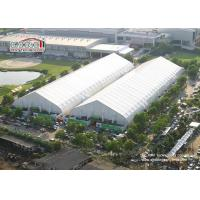 China 35m Width Fire Retardant TFS Tent With White PVC Fabric For Exhibiton, Storage wholesale