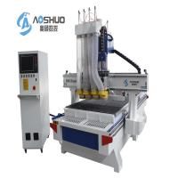 China 4 Spindle Cabinet Door CNC Wood Cutting Machine , Cnc Mill For Woodworking wholesale