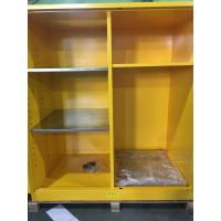 China Flammable Goods Storage Cabinets With Earthing Socket For Combustible Liquid / Paint wholesale