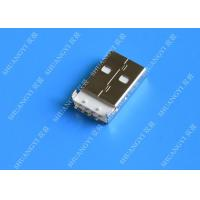 Buy cheap USB 2.0 A Male Plug 4 Pin Powered USB Connector DIP Mount Jack Socket from wholesalers