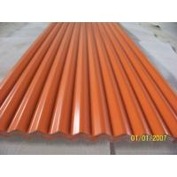 Quality Exposed Fastener 12 ft Aluminum Roofing Sheet Panel White / Blue ISO 9001 Approval for sale