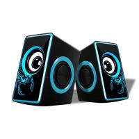 China Small Multimedia Computer Speakers , 2.0 Speakers For Pc Nice Design wholesale