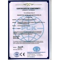 Guangzhou Ho Pui Laboratory Equipment Co., Ltd. Certifications