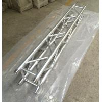 China 2 Meter 4 Sides Brace Tube 290 * 290mm Spigot Aluminum Stage Truss For Outdoor & Indoor wholesale
