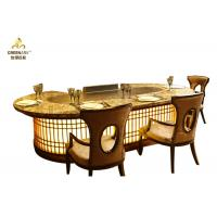China Made-to-order  Commercial teppanyaki Grill Table with Sunken Exhaustion wholesale