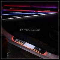 China For Mercedes Benz GLK GLA X156 W205 LED door sill plate light LED logo moving scuff light wholesale