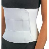 China Post Op Elastic Abdominal Binder Back Spine Brace With 3 Panel Construction wholesale