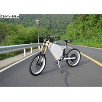 Adult 48V1000W off road high speed suspension enduro electric bike