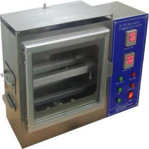 China Automotive Interior Horizontal Flammability Test Chamber , Flammability Testing Equipment on sale