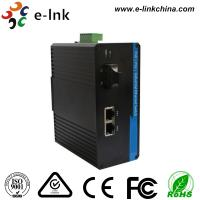 China DIN Rail Mount Industrial Ethernet POE Switch , Industrial Grade Network Switch wholesale
