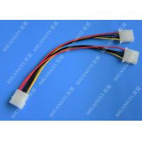 China Molex 4 Pin To Molex 4 Pin Cable Harness Assembly Pitch 5.08mm For Computer 200mm wholesale