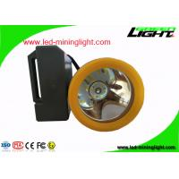 Buy cheap Anti Explosion Rechargeable LED Headlight 18000 Lux With 7.8Ah Battery Capacity from wholesalers