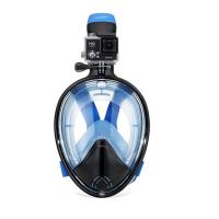 China Safety Diving Full Face Mask Detachable Breathing Tube Design S / M / L / XL Size wholesale