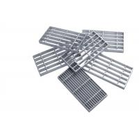 Serrated Mild Steel Galvanised Drainage Grates Strong Pressure Welded Mesh Structure