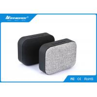 China Gray Cloth Portable Mp3 Player With Speaker , Wireless Bluetooth Subwoofer wholesale