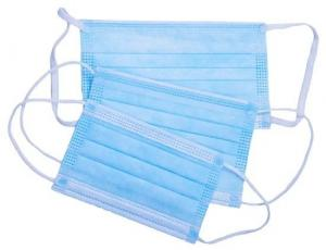 China Ear Hanging Disposable Mouth Mask , Disposable Non Woven Face Mask Super Soft Cloth wholesale