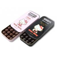 China Food Grade Slide Small Tin Containers Push  And Pull for Chocolate wholesale