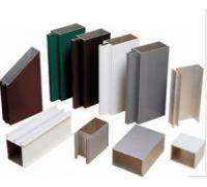 China Anodized 6063 Construction Aluminum Profile Extrusion Customized Sections wholesale