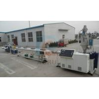 China PERT Floor Heating Plastic Pipe Extrusion Line , PPR Cold and Hot Pipe Machinery wholesale